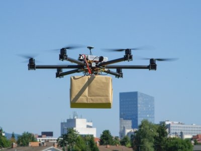 APAC bets big on drones says Frost & Sullivan. Source: Shutterstock