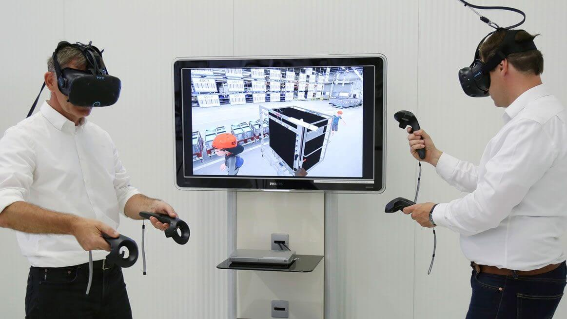 Volkswagen uses VR in its operations. Source: VW AG