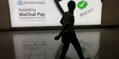 Business expansion made easy with WeChat Mini Program and WeChat Pay. Source: AFP