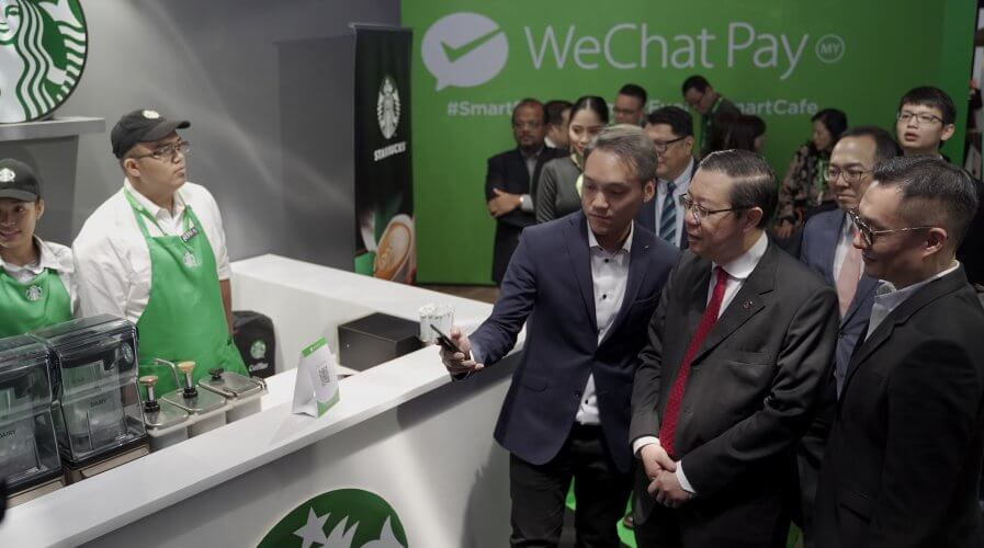 WeChat Pay works seamlessly for merchants as it only requires the display of a QR code. Source: WeChat Pay Malaysia