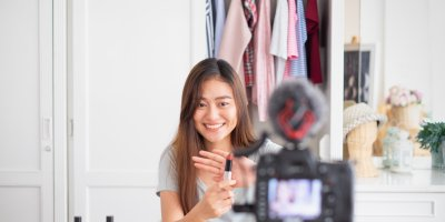 Chinese social media influencers drive more sales than their western counterparts. Source: Shutterstock