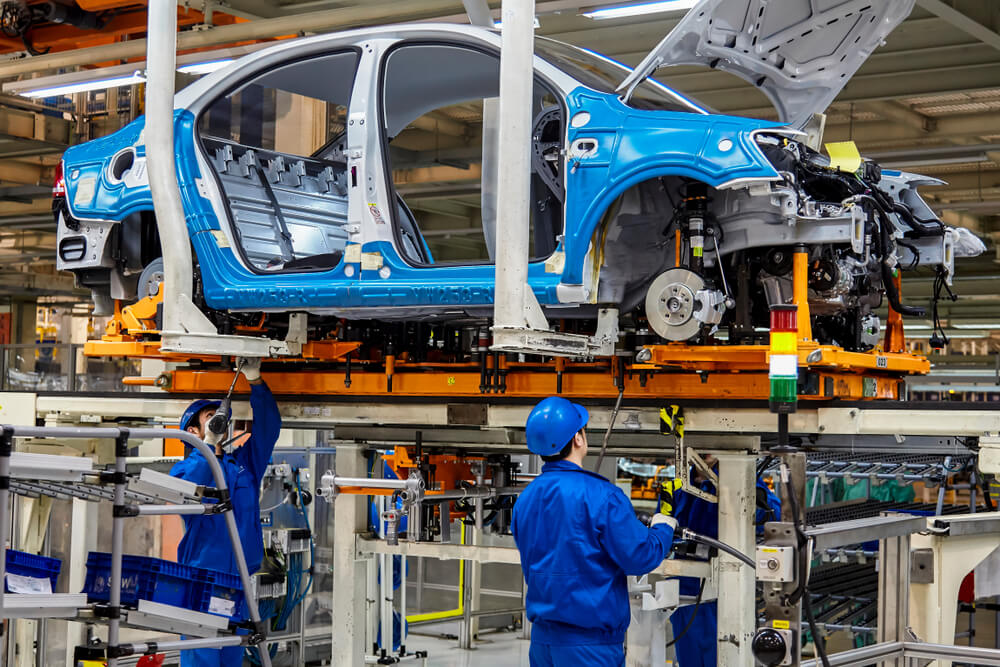 McKinsey believes AI in production is a boon for manufacuturers with heavy assets. Source: Shutterstock
