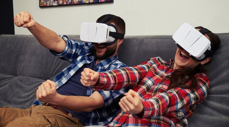 Augmented reality and virtual reality is not the same. Source: Shutterstock