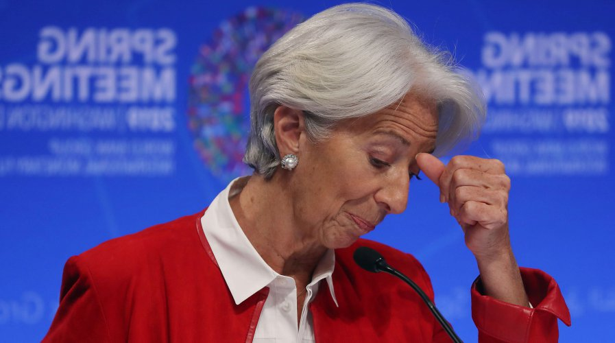 IMF MD Lagarde says banks have to adapt to survive, or