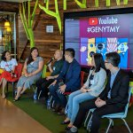 Influencers at a recent YouTube event at Google HQ in Malaysia. Source: Google