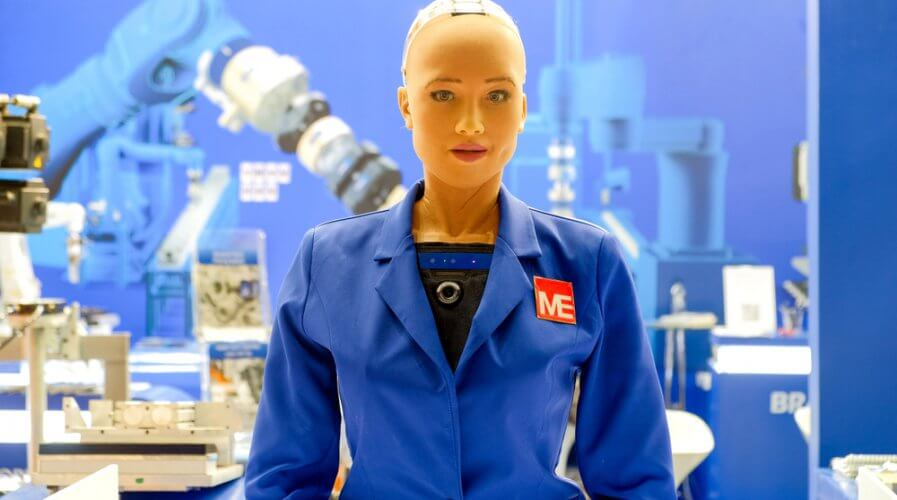 Hanson Robotics' Sophia is great, but what's her industrial application? Source: Shutterstock