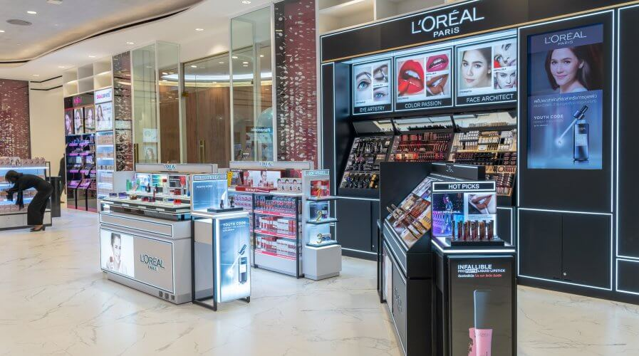 Global cosmetic giant, L'Oreal deploys AI solution to help streamline its recruitment process. Source: Shutterstock