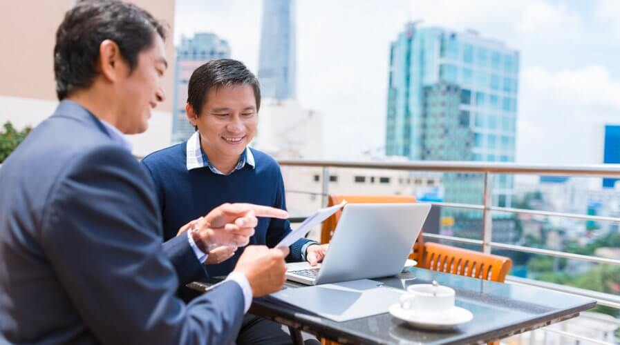 Businesses can leverage interactive videos and live interviews to make the human experience more pronounced. Source: Shutterstock