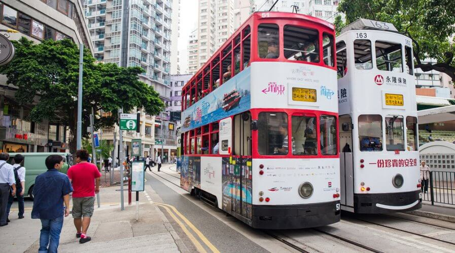 Hong Kong and other cities in the APAC are quickly transforming into smart cities. Source: Shutterstock