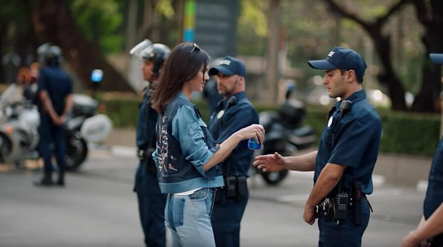 2017 Pepsi marketing campaign ad starring reality show star and model Kendall Jenner missed the human touch. Source: The New York Times