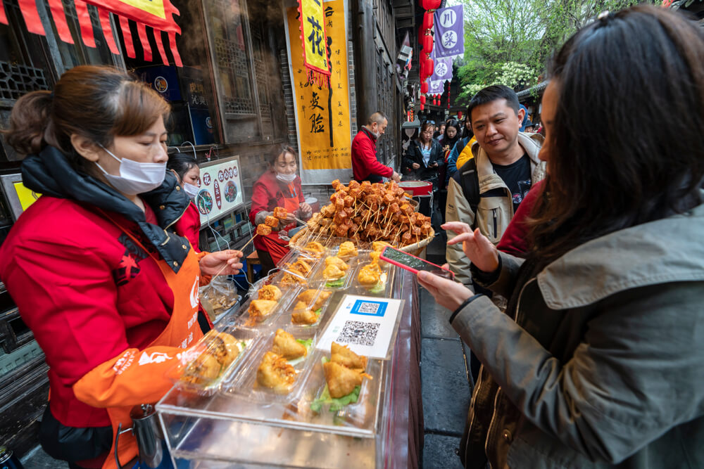 WeChat is a way of life for the people in China. Source: Shutterstock