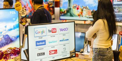 Smart TVs are making it tough for broadcasters to compete. Source: Shutterstock