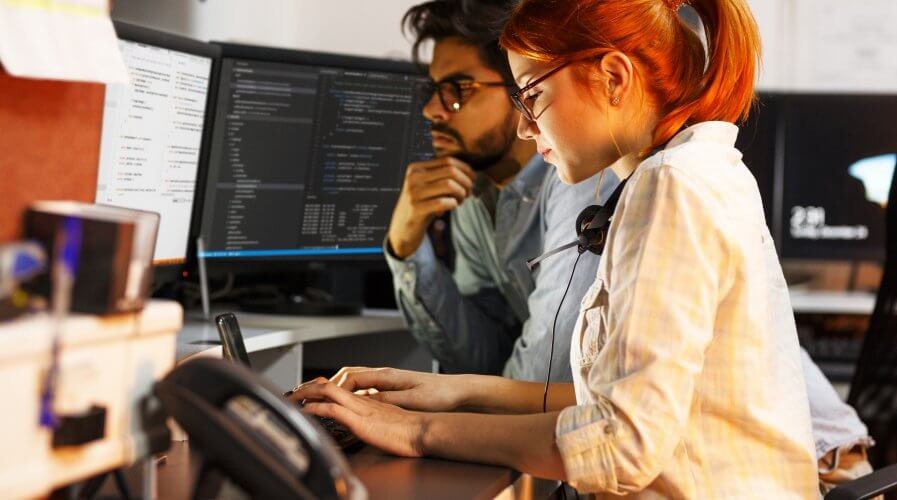 Cybersecurity is a massive challenge for companies, especially for those considering a move to the cloud. Source: Shutterstock