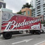 Budweiser sets up shop in Israel. Source: Shutterstock