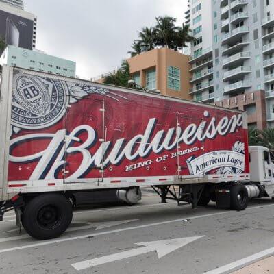 Budweiser sets up shop in Israel. Source: Shutterstock