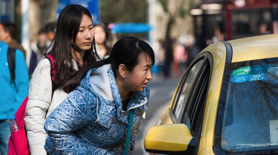 Mobility in China is getting more comfortable. Source: Shutterstock