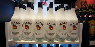 "Pernod Ricard's Malibu to debut ""connected bottles"". Source: Shutterstock"