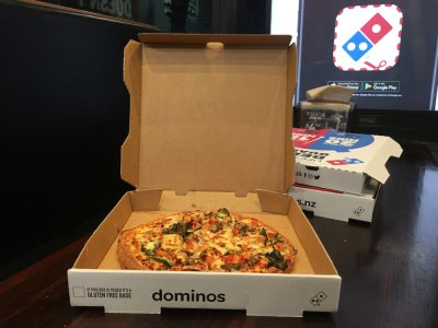 Customers get to peek into Domino's kitchen using technology. Source: Shutterstock