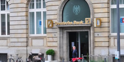 Deutsche Bank AG's CEO Christian Sewing is planning to cut back the bank's spending on technology while at the same time gaining ground on their competition, as part of the troubled bank's turnaround plan. Source: Shutterstock