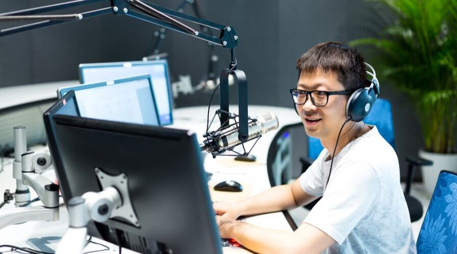 Podcasts are a hot favorite in China. Source: Shutterstock