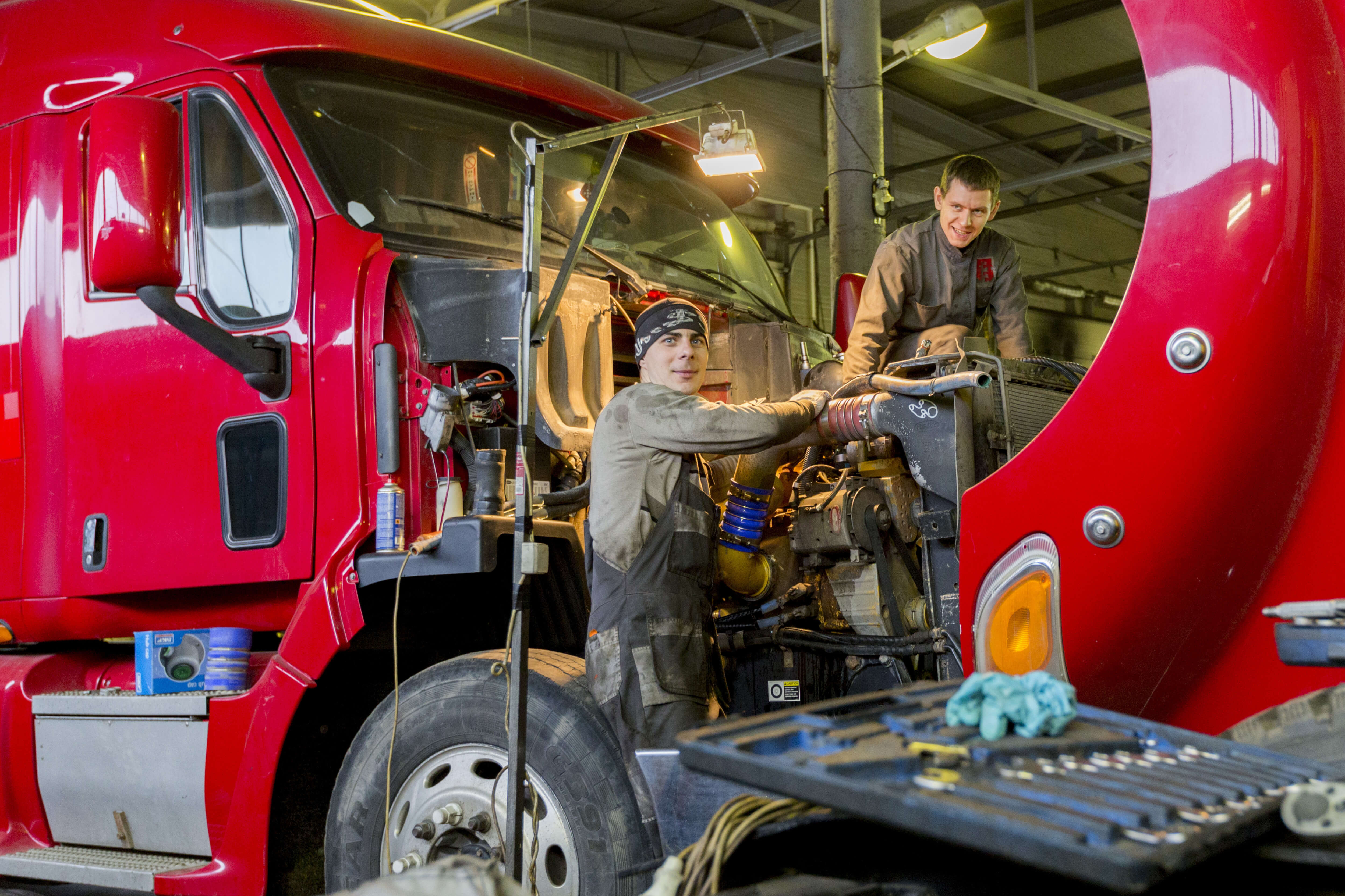Scania's team is exploring how digital twins can help them. Source: Shutterstock