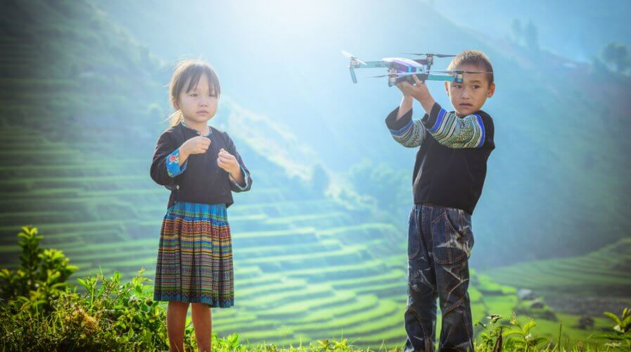 Agriculture operations to see changes and advancement with the employment of drone technology. Source: Shutterstock