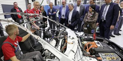 Volkswagen revamps its vocational training program. Source: Volkswagen