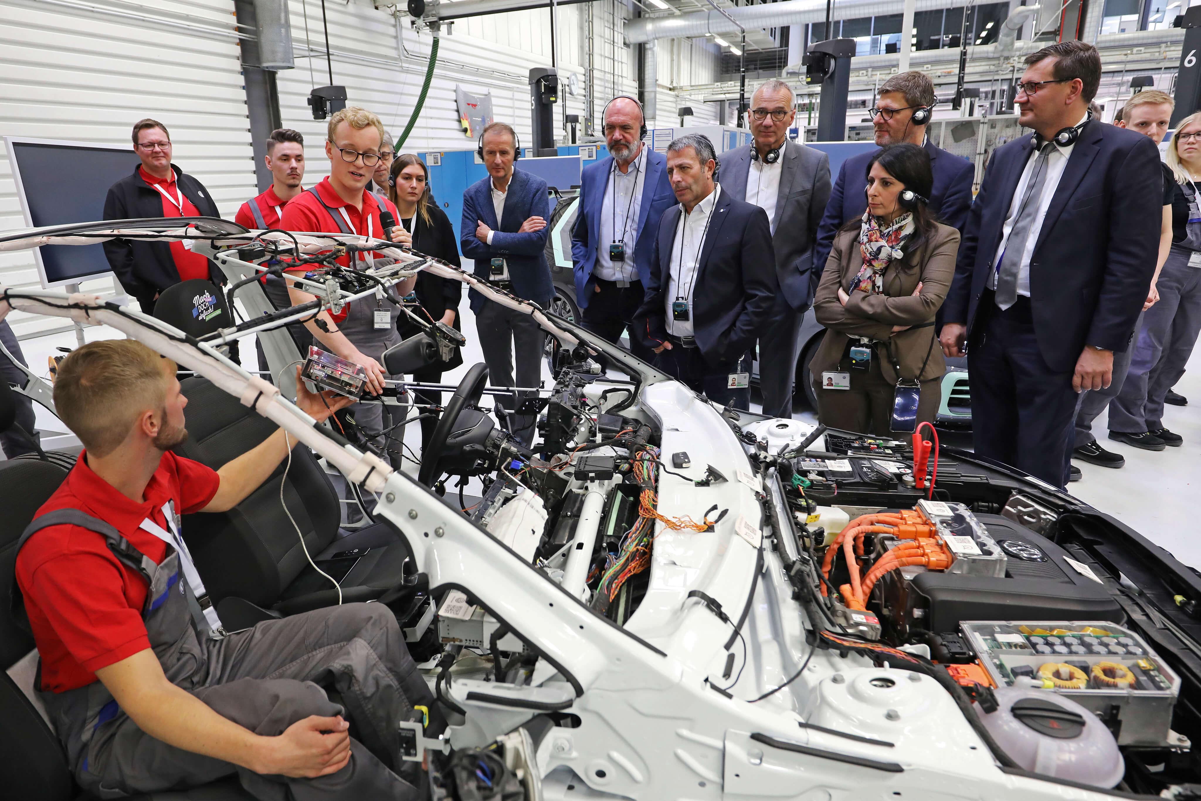 Volkswagen revamps its vocational training program. Source: Volkswagen