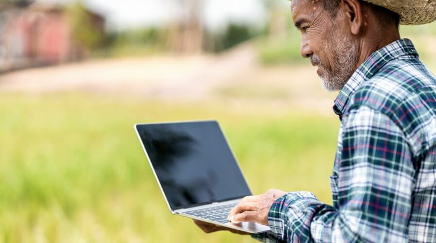 With machine learning, farmers can get the most out of predictive analytics to make smarter decisions. Source: Shutterstock