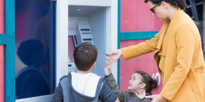 ATM machines were among the first ever digital advances in financial service institutions. Source: Shutterstock