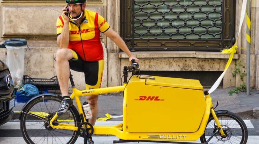 DHL's team constantly innovates with technology with a view to delight customers. Source: Shutterstock