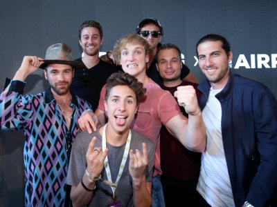 Global creators meet with companies and fans at VidCon every year in the US - and now in Singapore. Image from representative purposes from VidCon 2016. Source: Jonathan Leibson/Getty Images for Samsung/AFP