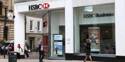 HSBC Bank and others use machine learning to win big. Source: Shutterstock