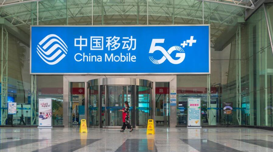 5G has arrived in China with 3 of its biggest telcos launching the service on Nov 1, 2019. Source: Shutterstock
