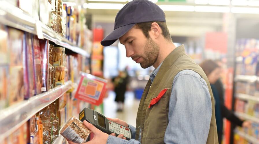 Blockchain systems can only work when supermarkets stand guard. Source: Shutterstock