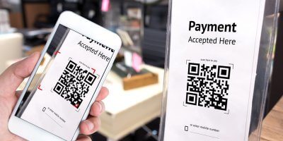 Thailand and Singapore enable cross-border QR code payments. Source: Shutterstock