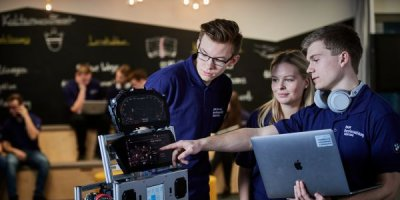 Here is how BMW see vocational training in the digital world. Source: BMW