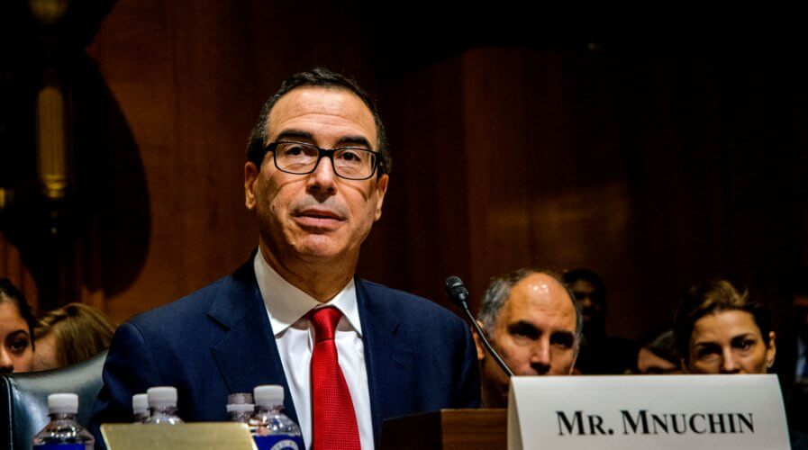 US Treasury Secretary Steven Mnuchin said digital dollar not a priority. Source: Shutterstock