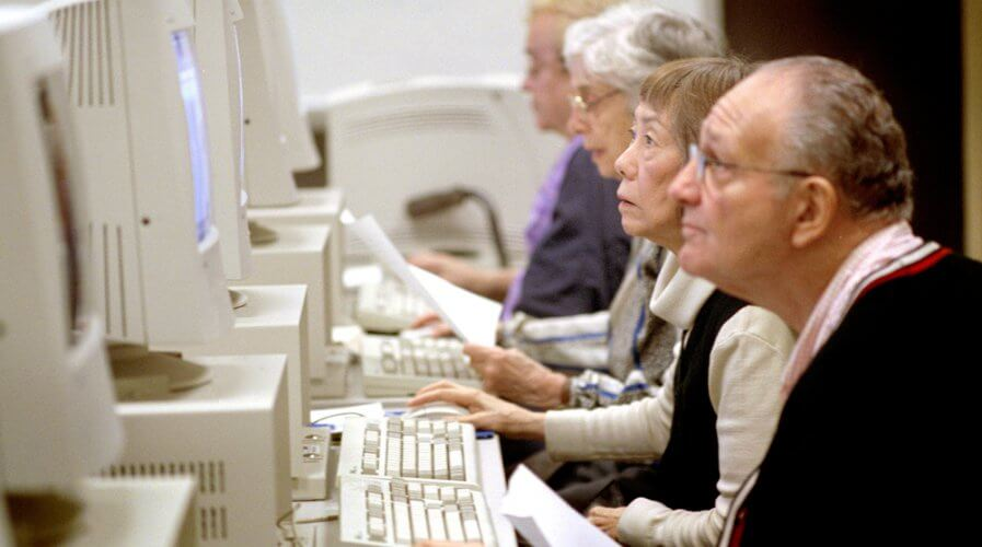 Young or old, it's never too late to be tech-savvy. Source: Shutterstock