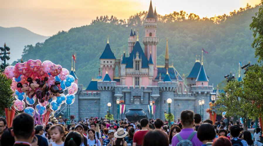 Disney+ marks a very progressive history for the brand in transforming digitally. Source: Shutterstock