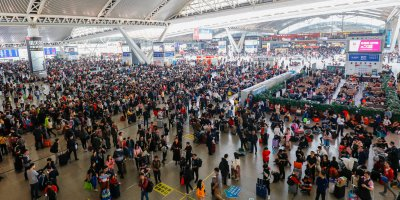 China will use technology to ease commuting during the Spring Festival. Source: Shutterstock.