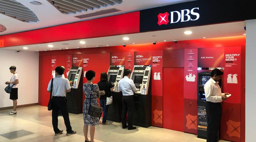 Singapore's DBS bank shows how successful digital transformation is done.. Source: Shutterstock.
