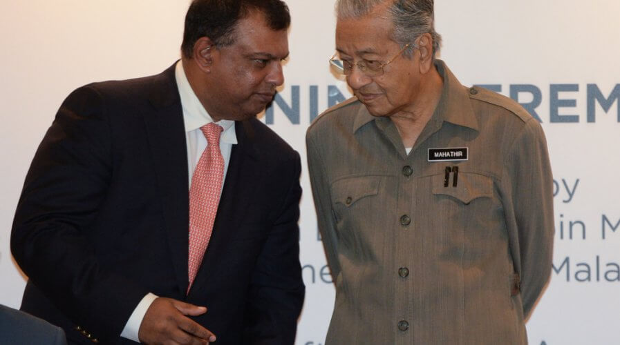 AirAsia Chief Tony Fernandes seeks to help employees learn tech skills as the company morphs into a technology giant. Source: Shutterstock