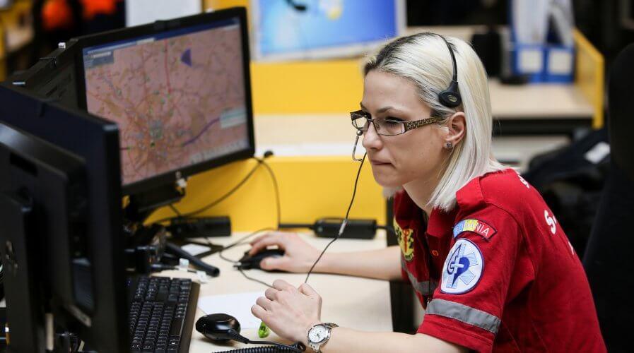 AI can now help emergency dispatchers identify cardiac arrests. Source: Shutterstock.