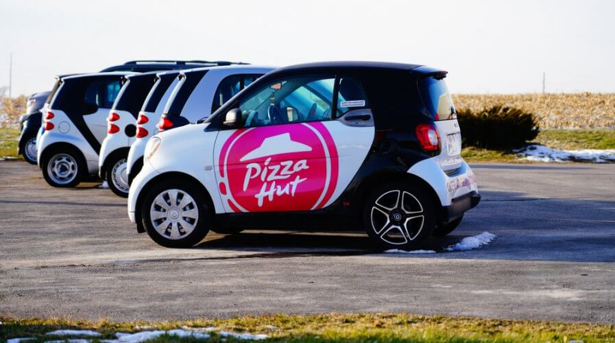 Pizza Hut is tapping on data to provide customers with a better experience. Source: Shutterstock