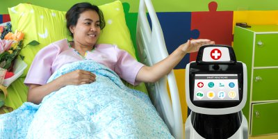 Hospital care in 2030 will be driven by digital altogether. Source: Shutterstock