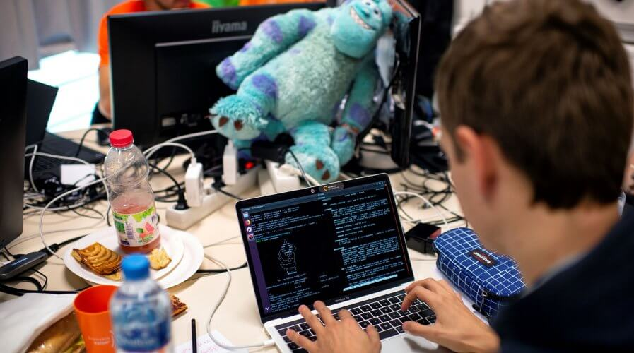 Working from home is the new reality but cybersecurity must remain a priority. Source: AFP
