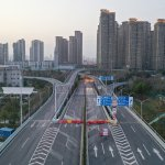 Wuhan, eerily empty during the peak of the outbreak. Source: AFP.