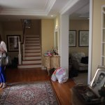 Interested buyer is touring one of the housing properties. Source: AFP