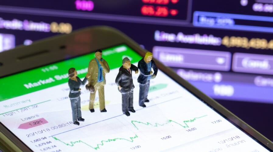 Big data technologies can give enterprises more control over the market. Source: Shutterstock